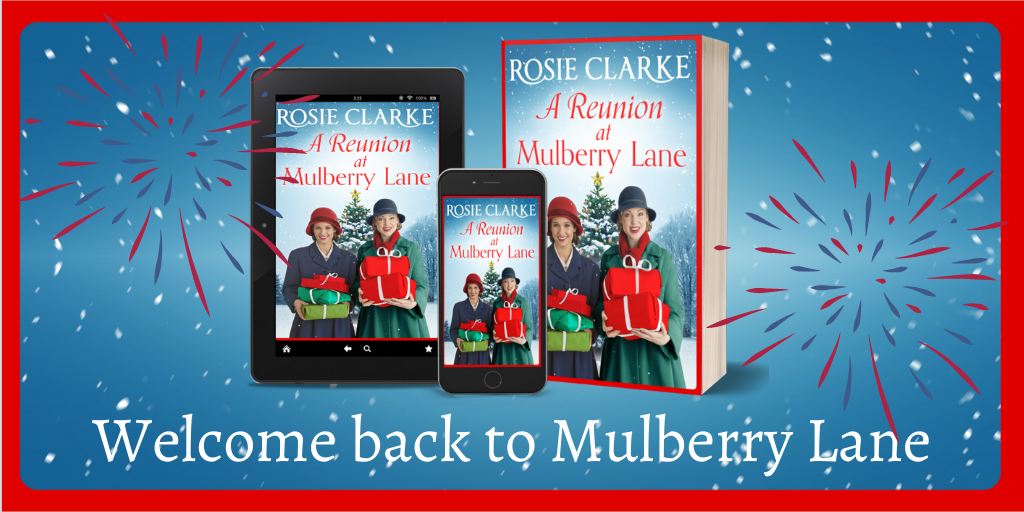 Publication Day for Book 6 of Mulberry Lane – Rosie Clarke