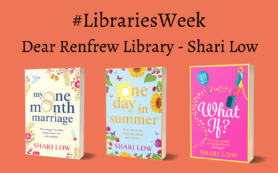 #Libraries Week Dear Renfrew Library – Shari Low