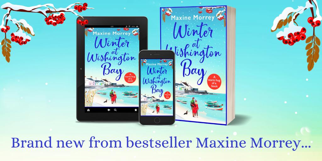 Publication Day Blog: Winter at Wishington Bay – Maxine Morrey