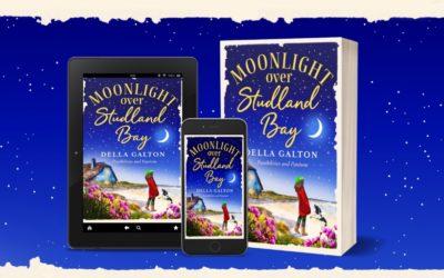 Publication Day Blog: Moonlight Over Studland Bay – Della Galton