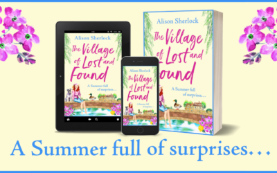 Publication Day Blog: The Village of Lost and Found by Alison Sherlock