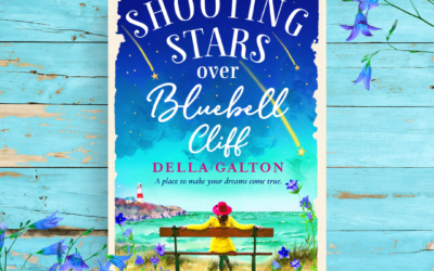 Shooting Stars over Bluebell Cliff by Della Galton  – A peek behind the scenes of a television studio